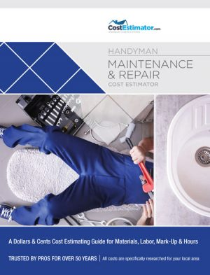 Handyman Maintenance and Repair Book - Cost Estimator