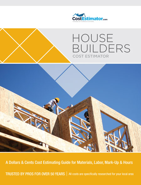 house builders cost estimator hometech systems