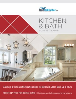Kitchen & Bath Cost Estimator Book
